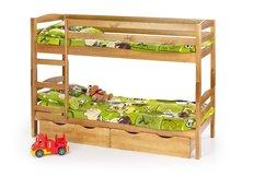 Dětská patrová postel bez šuplíků 190x80cm SAMUEL + matrace ZDARMA!