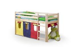 Vyvýšená dětská postel z masivu 190x80cm - NELA + matrace ZDARMA!