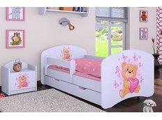 Dětská postel se šuplíkem 180x90cm MÍŠA