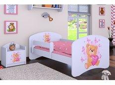Dětská postel bez šuplíku 180x90cm MÍŠA