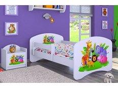 Dětská postel bez šuplíku 180x90cm MADAGASKAR