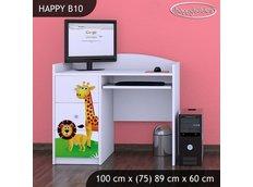 Dětský psací stůl MADAGASKAR - TYP 10