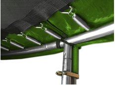 Trampolína LUX SET 366 cm + žebřík a síť