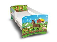 Dětská postel - Farma