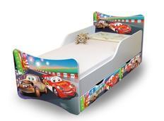 Dětská postel se šuplíkem 200x90 cm -  AUTA II.
