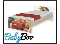 Dětská postel MAX Disney - AUTA 160x80 cm - BEZ ŠUPLÍKU
