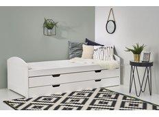 Dětská postel s výsuvným lůžkem a šuplíkem 200x90cm LAGUNIA