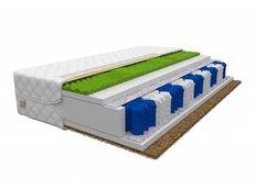 Taštičková matrace SUPER 200x180x19 cm - HR/kokos