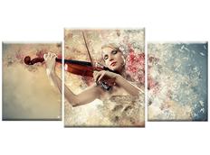 TŘÍDÍLNÝ OBRAZ na plátně MUSIC - vzor14