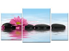 TŘÍDÍLNÝ OBRAZ na plátně FLOWERS - vzor3
