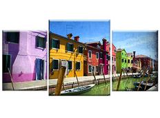TŘÍDÍLNÝ OBRAZ na plátně CITY - vzor47
