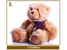 Dětské samolepky MEDVÍDCI XXL - vzor 3