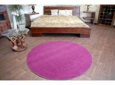 Kulatý koberec FIALOVÝ