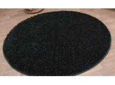 Kulatý koberec SPECIAL BLACK