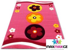 Dětský koberec FLOWER pink