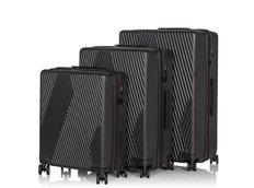 Cestovní kufry BLACKSTAR - černé