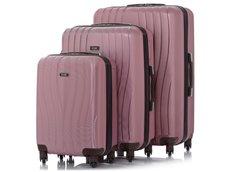 Cestovní kufry PINKSTAR - růžové