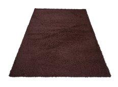 Moderní koberec SHAGGY PORTO - hnědý