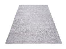 Moderní koberec SHAGGY PORTO - světle šedý