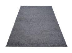 Moderní koberec SHAGGY PORTO - tmavě šedý