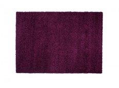 Moderní koberec SHAGGY RIO - tmavě fialový