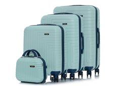 Cestovní kufry MODERNSTAR - světle zelené