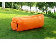 Samonafukovací pytel LAZYBED - oranžový