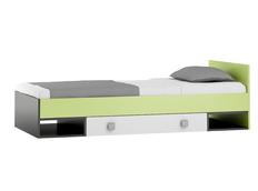 Dětská postel se šuplíkem - GREEN TYP A 200x90 cm