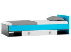 Dětská postel se šuplíkem - BLUE TYP A 200x90 cm