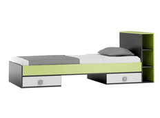 Dětská postel se šuplíky - GREEN TYP B 200x90 cm
