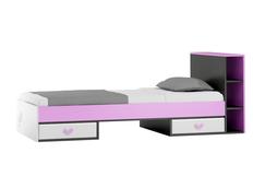 Dětská postel se šuplíky - FLOWER TYP B 200x90 cm