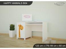 Dětský psací stůl ŽIRAFKY - TYP 4