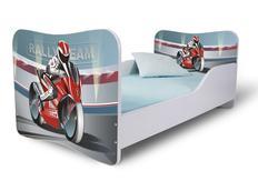 Dětská postel MOTORKA
