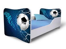 Dětská postel FOTBAL modrá