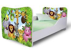 Dětská postel MADAGASKAR