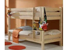 Detská poschodová posteľ Barco 200x90 cm - prírodná