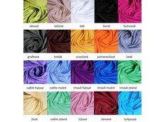 Bavlněné prostěradlo SUPER (20 barev)