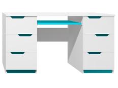 Psací stůl - MODERN TYP B - tyrkysová