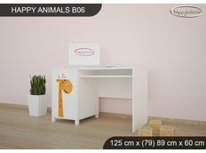 Dětský psací stůl ŽIRAFKY - TYP 6