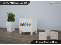 Dětský noční stolek HAPPY - TYP 2