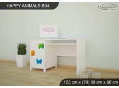 Dětský psací stůl HAPPY - TYP 4