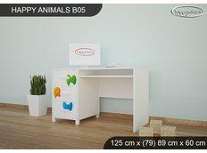 Dětský psací stůl HAPPY - TYP 5