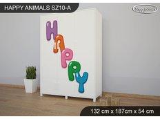 Dětská skříň HAPPY - TYP 10A