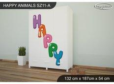 Dětská skříň HAPPY - TYP 11A