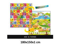 Dětský pěnový koberec - ABC + farma
