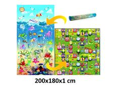 Dětský pěnový koberec - oceán + číselná ulička