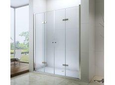 Sprchové dveře LINA DUO 160 cm