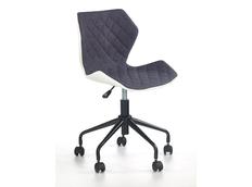 Dětská otočná židle MATRIX šedá