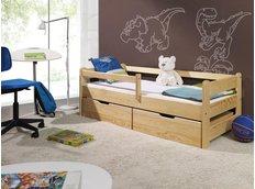 *** SKLADEM ***  Dětská postel z MASIVU 200x90cm SE ŠUPLÍKY - DP 019