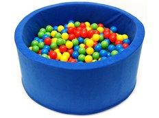 Dětský molitanový bazének - modrý